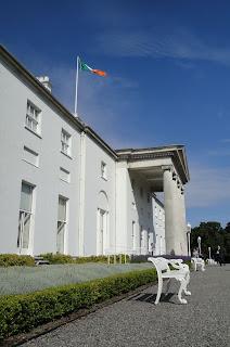 Áras an Uachtaráin - the Irish President's residence in Dublin's Phoenix Park