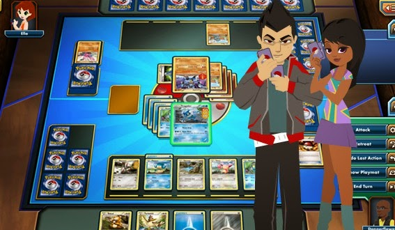 Nintendo Bringing Pokemon Trading Card Game Online in iPad