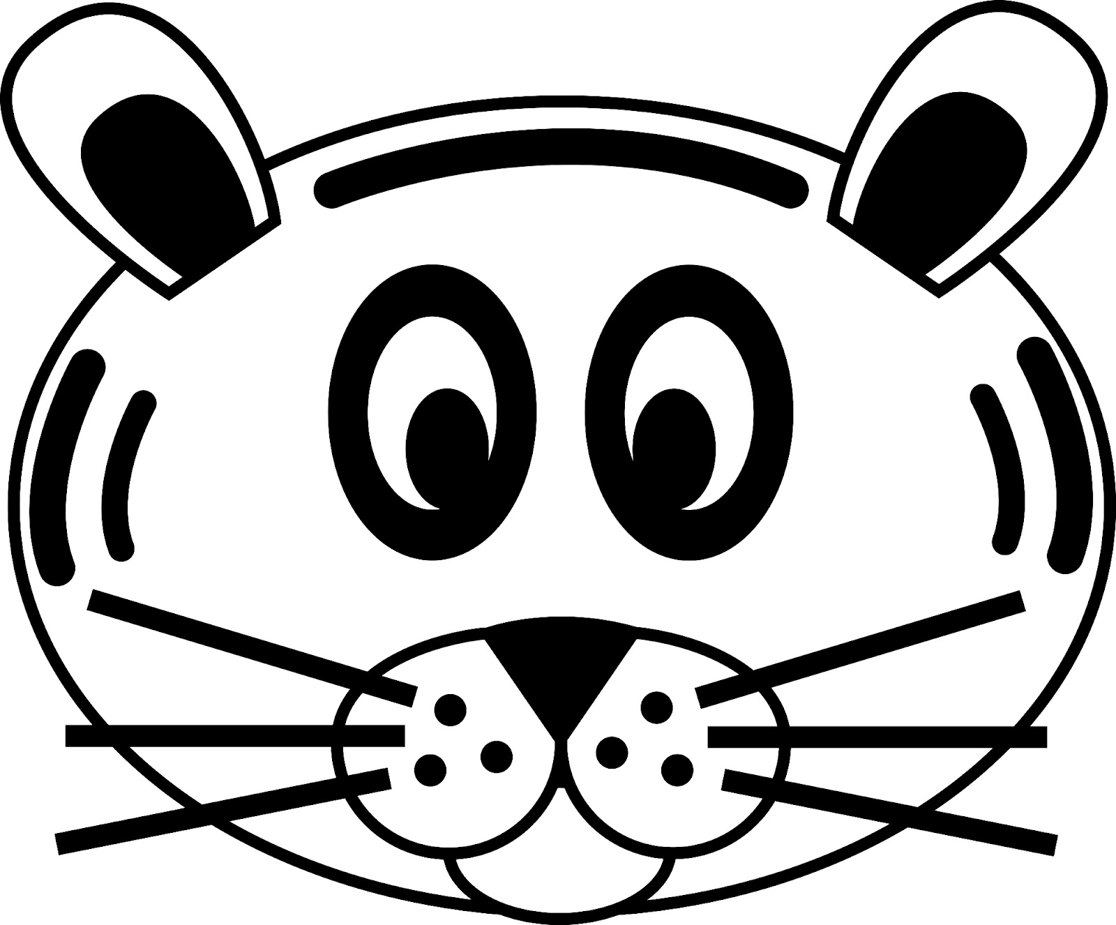 Sheep Mask Printable