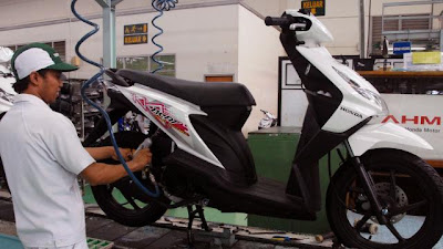 Tips Merawat Motor Matic