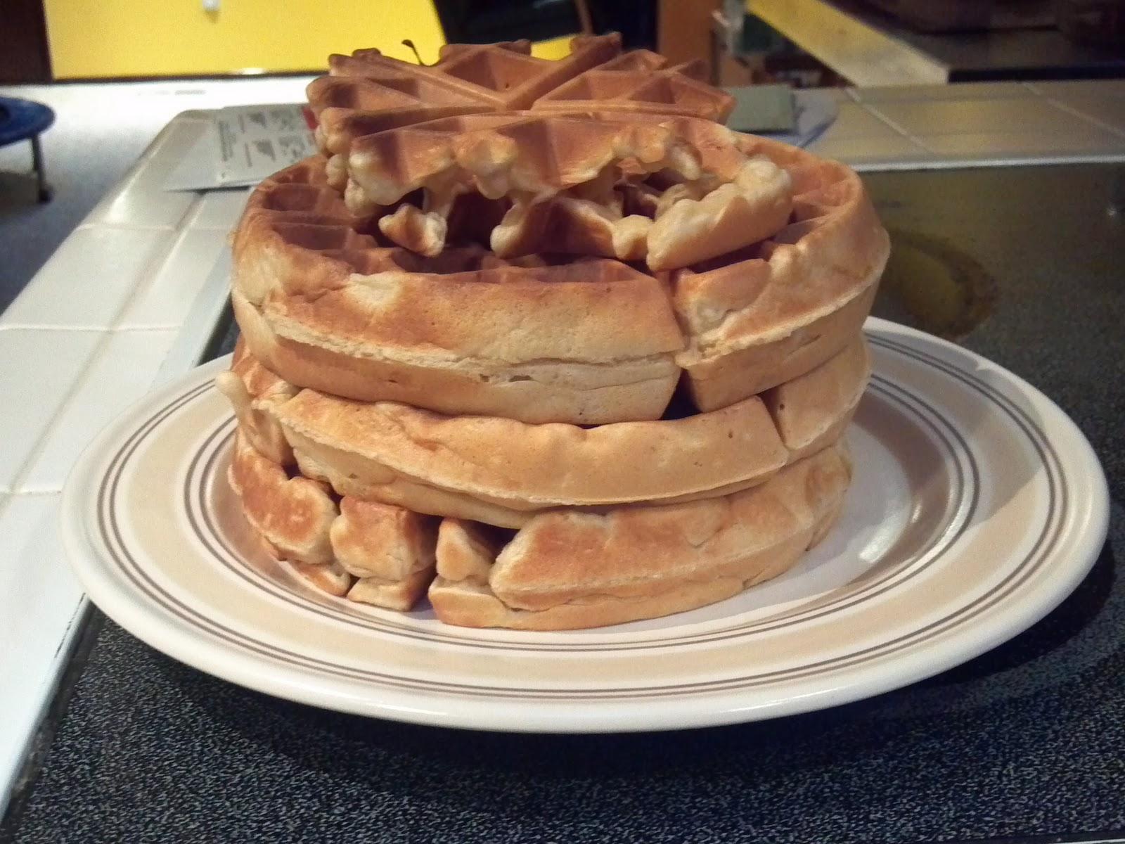 ... Something Else! Encouraging the Resistant Eater: Multigrain Waffles