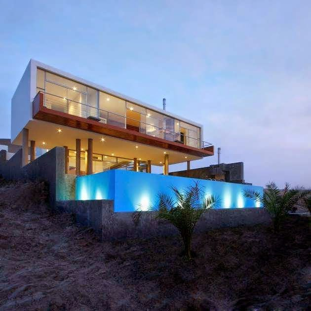 Serene House In Peru : Contemporary dream house is impressively serene in feel