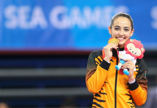 Biodata Farah Ann Abdul Hadi Gimnastik Malaysia