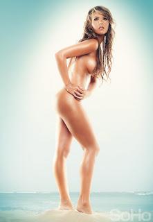 Melissa Giraldo en la revista Soho