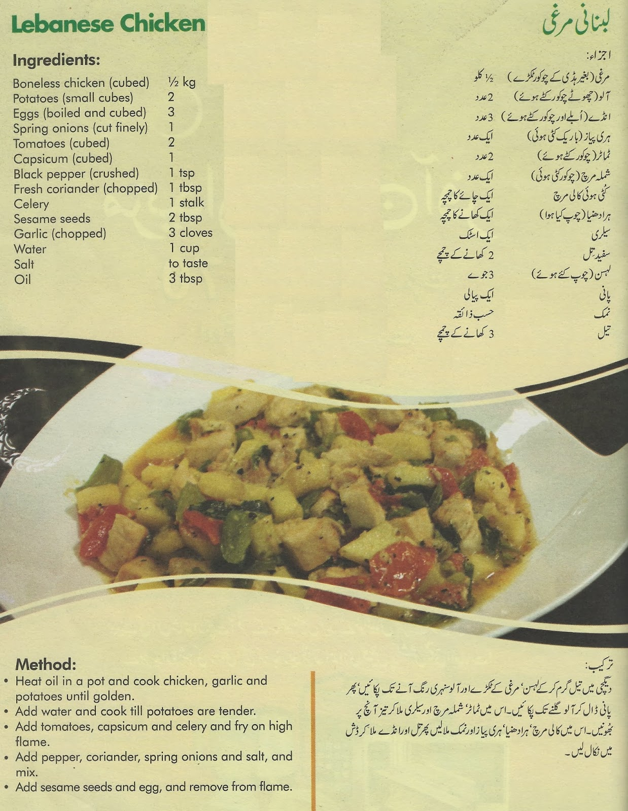 Coking philospher a new labane dish lebanese chicken new cooking a new labane dish lebanese chicken new cooking recipe in urdu and english forumfinder Gallery