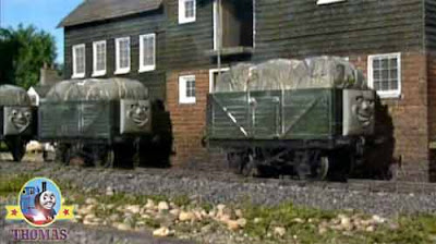 Flour mill Sodor troublesome trucks Thomas the tank engine Emily the train railway new travel route