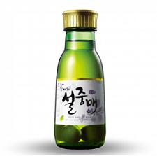 Rượu Trái Mơ Xanh Hàn Quốc - Nhà sản xuất : Lotte