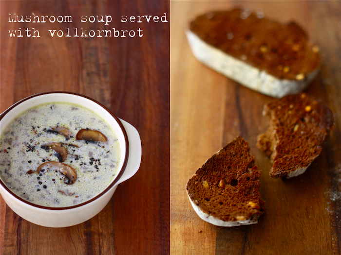 Homemade Cream of Mushroom Soup by SeasonWithSpice.com