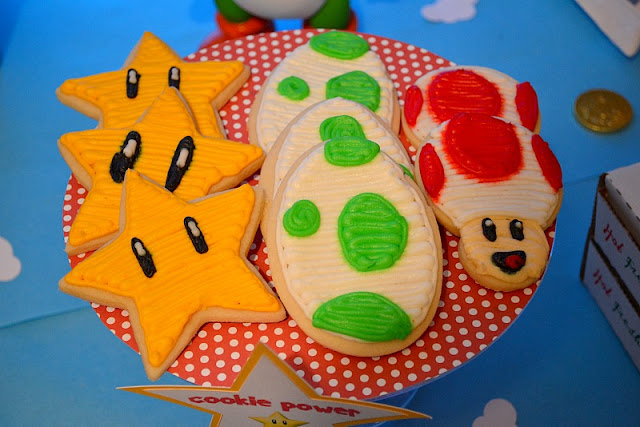 Mario party cookies