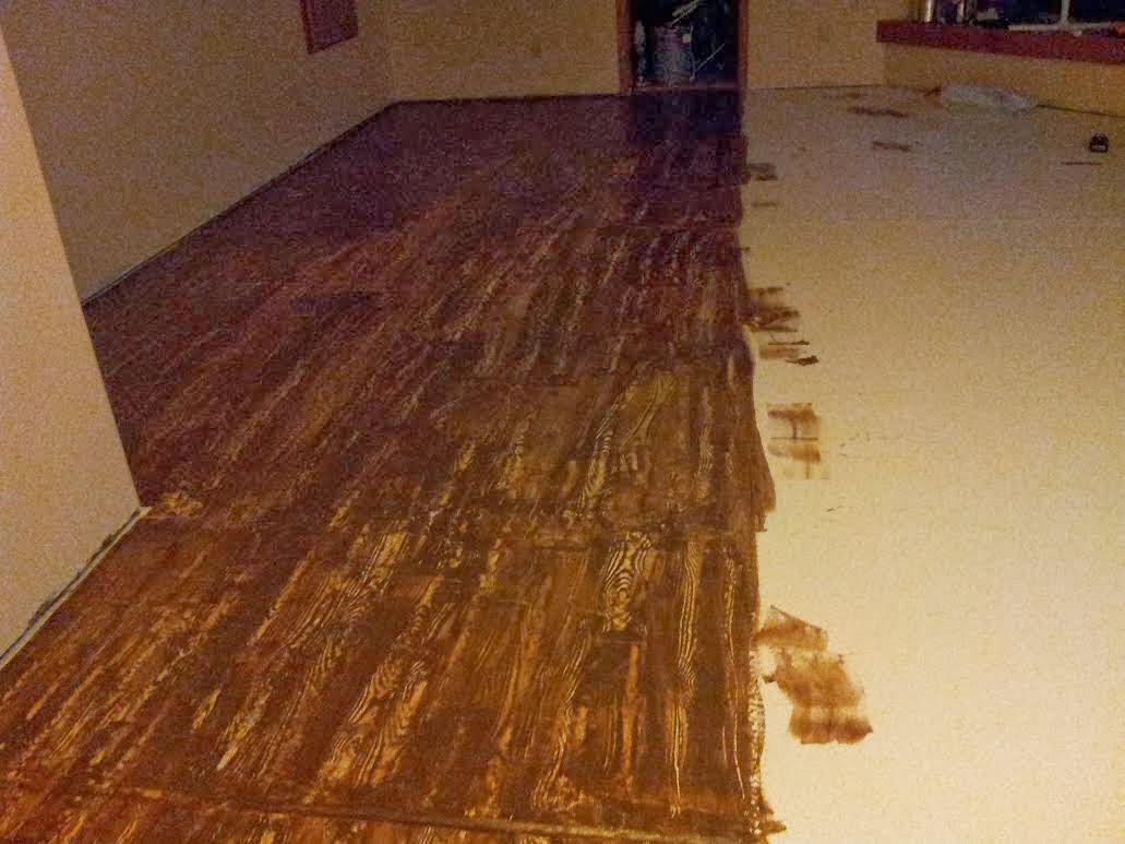 How To Make Concrete Floors Look Like Wood WB Designs - How To Make Concrete Floors Look Like Wood WB Designs