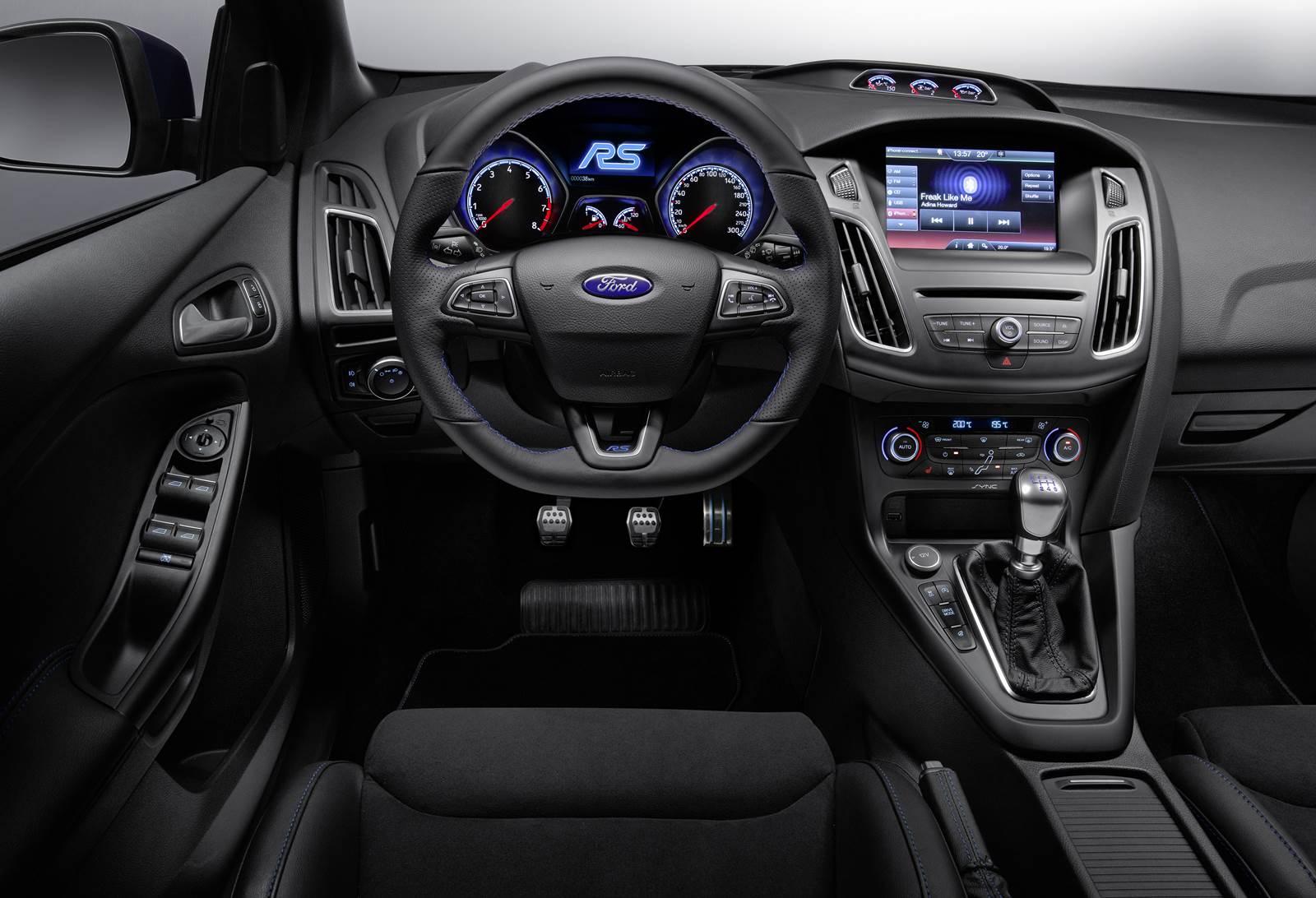 Novo ford focus rs 2016 interior