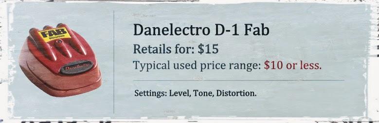 Danelectro D-1 Fab Distortion