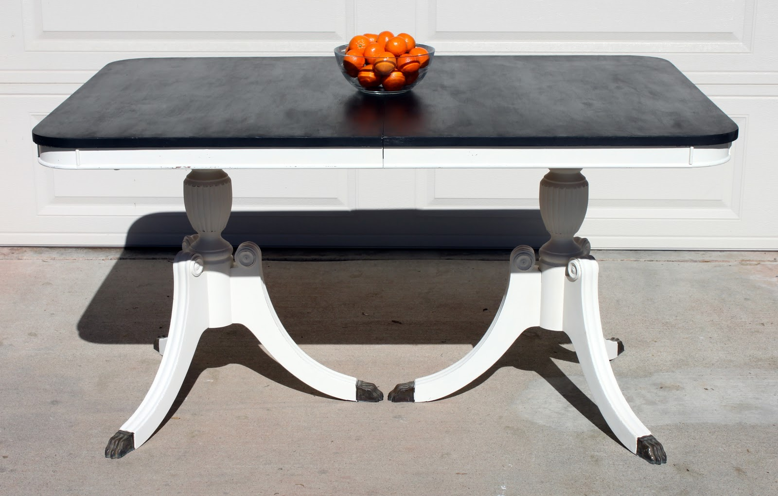 Painted Duncan Phyfe Dining Room Set
