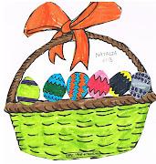 Easter (Dibujos de Pascua). Los alumnos y alumnas de Infantil y de Primero . paqui camara