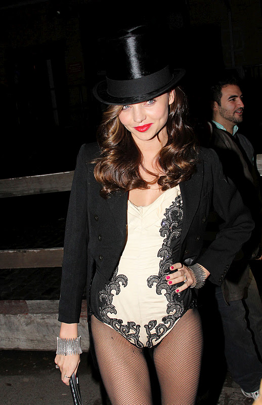 Miranda Kerr at Halloween Party in New York