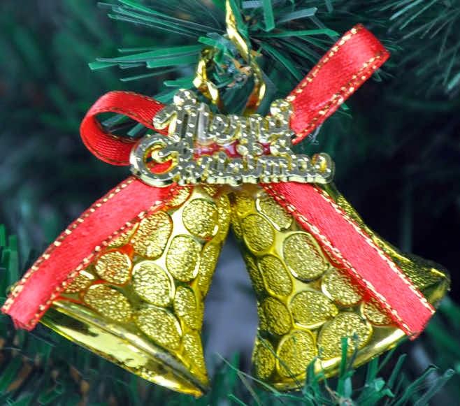 Decoracion de Interiores, Campanas de Navidad.