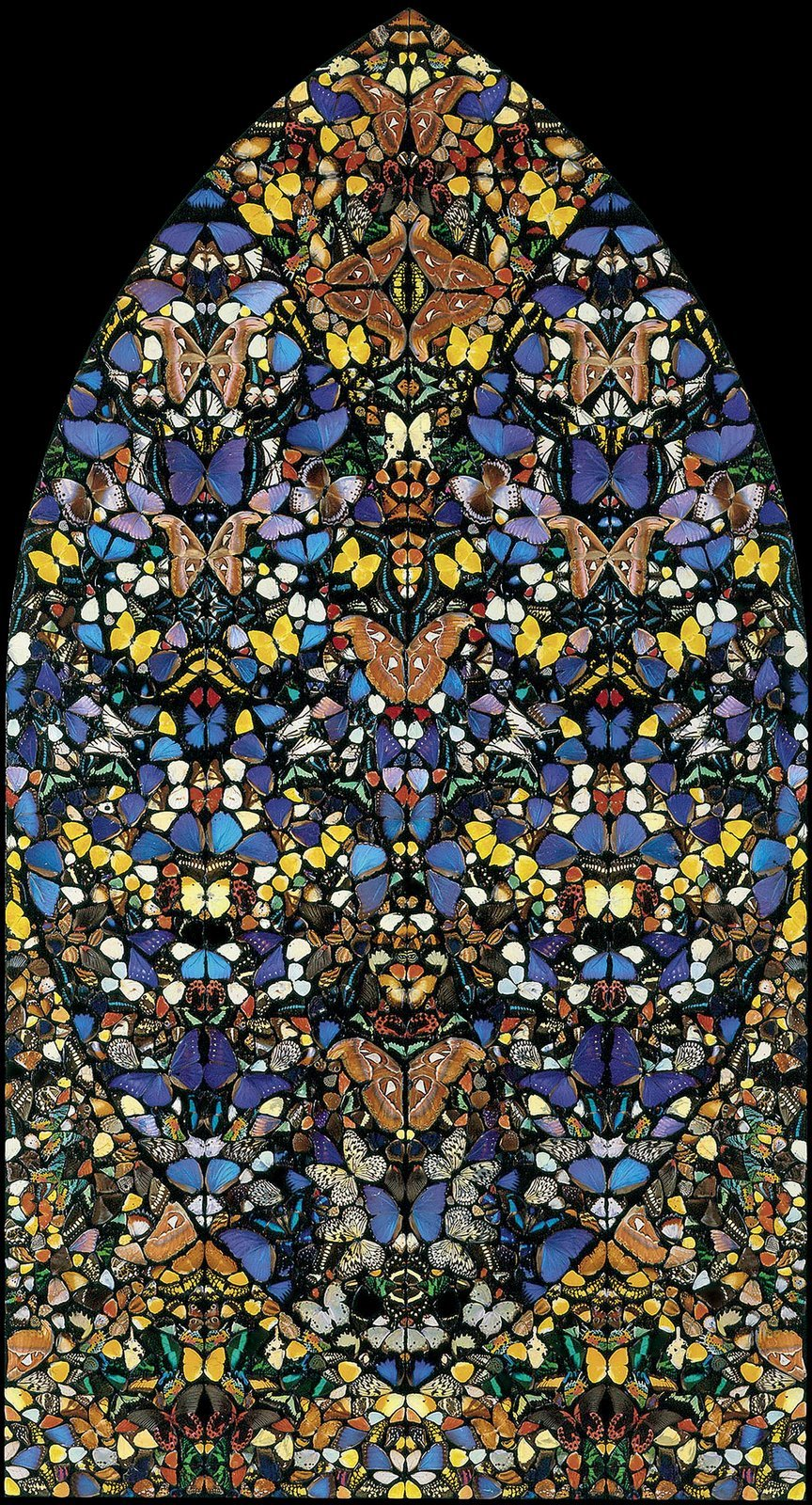 Damien Hirst Stained Glass