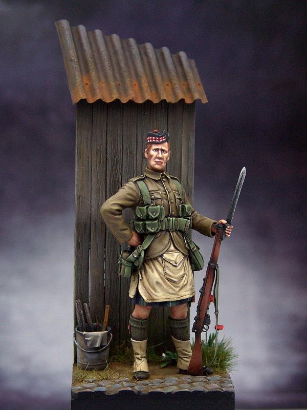 1 st Gordon Highlander 1914 - Tommy's War Gordon01resize
