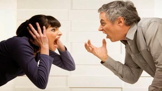 دراسة .. شجار الزوجين يسبب الموت المبكر  -رجل امرأة زوجان يتشاجران يتعاركان - man woman fighting