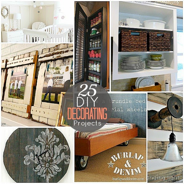25 DIY Home Decorating Projects Ideas