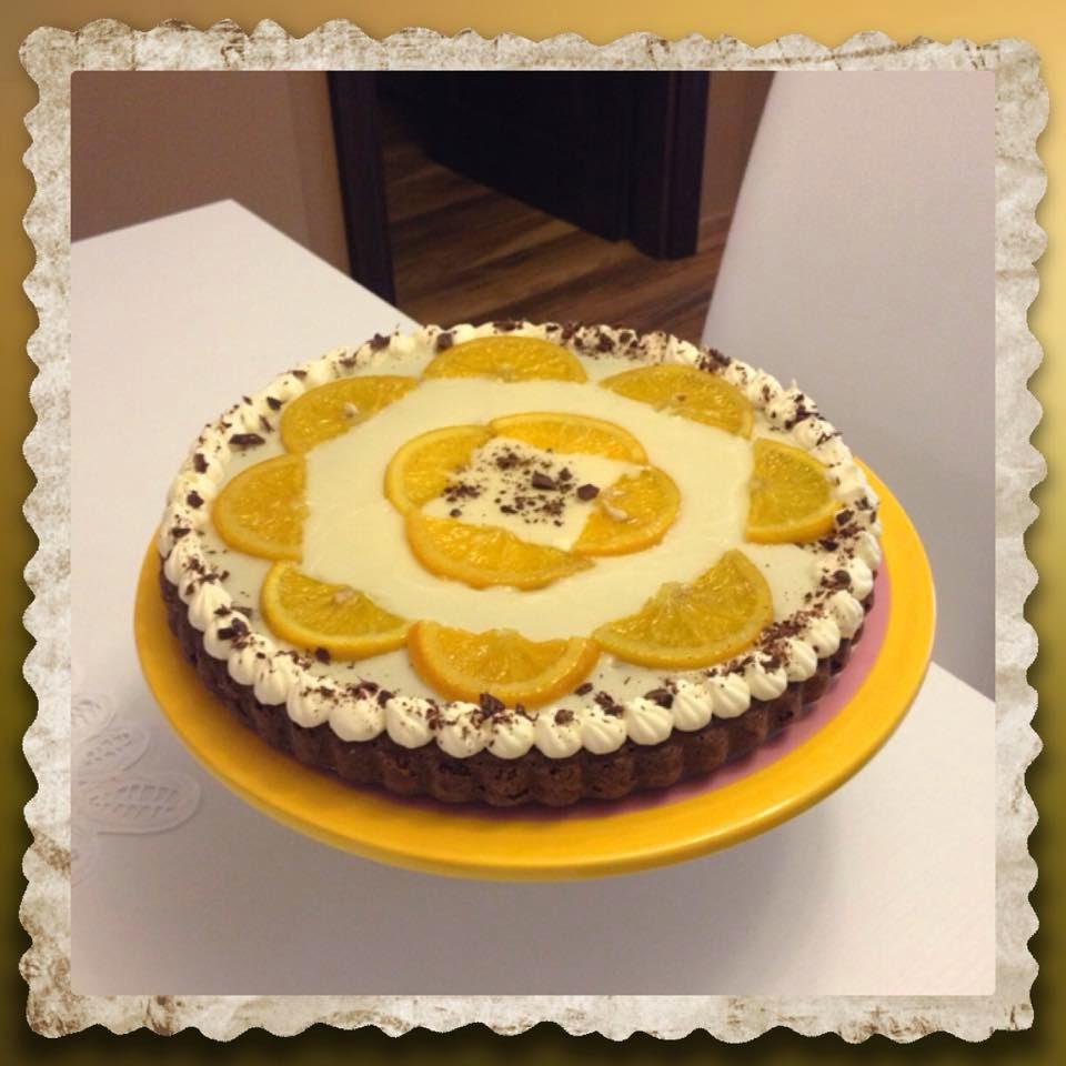 Moretta e glassa arance con arance caramellate