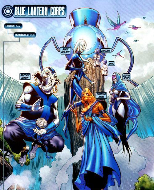 BLUE LANTERN; The Power Of Hope