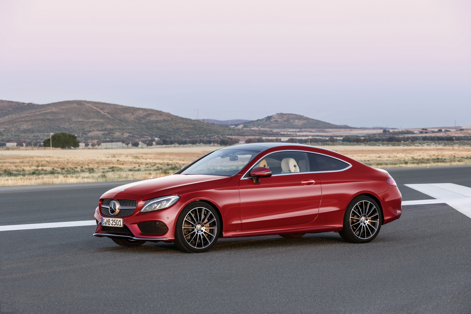 New mercedes c class coupe uk specs announced starts at for Mercedes benz c300 horsepower