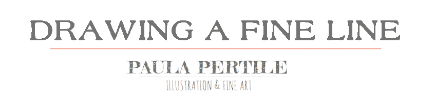 Drawing a Fine Line - Paula Pertile's Art Blog