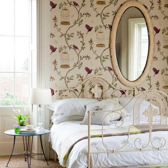 Girls Chic Wallpaper Kids Bedroom Feature Wall Decor: PAREDES DE PAPEL