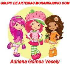 Carteirinha Grupo de Arteiras Moranguinho.com
