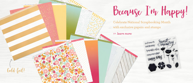 National Scrapbooking Month ... Because I'm Happy