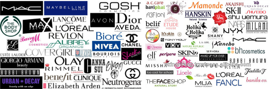Many Cosmetics Brands