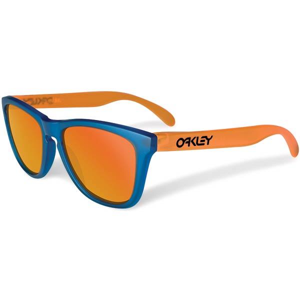 Oakley frogskins blue