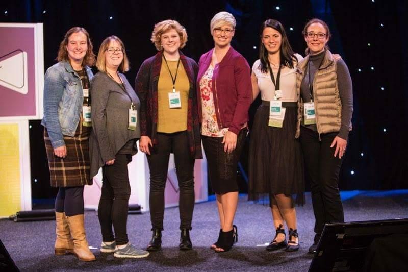 Het Event Council Team met CEO Sara Douglass