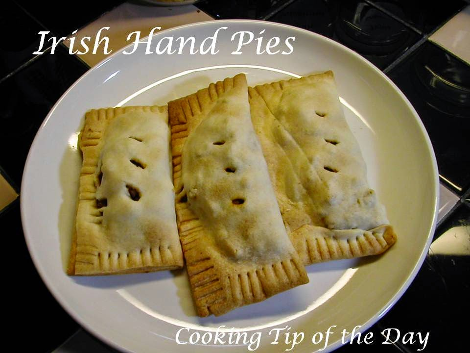 these irish beef hand pies are nifty little beefy pastries that are a ...