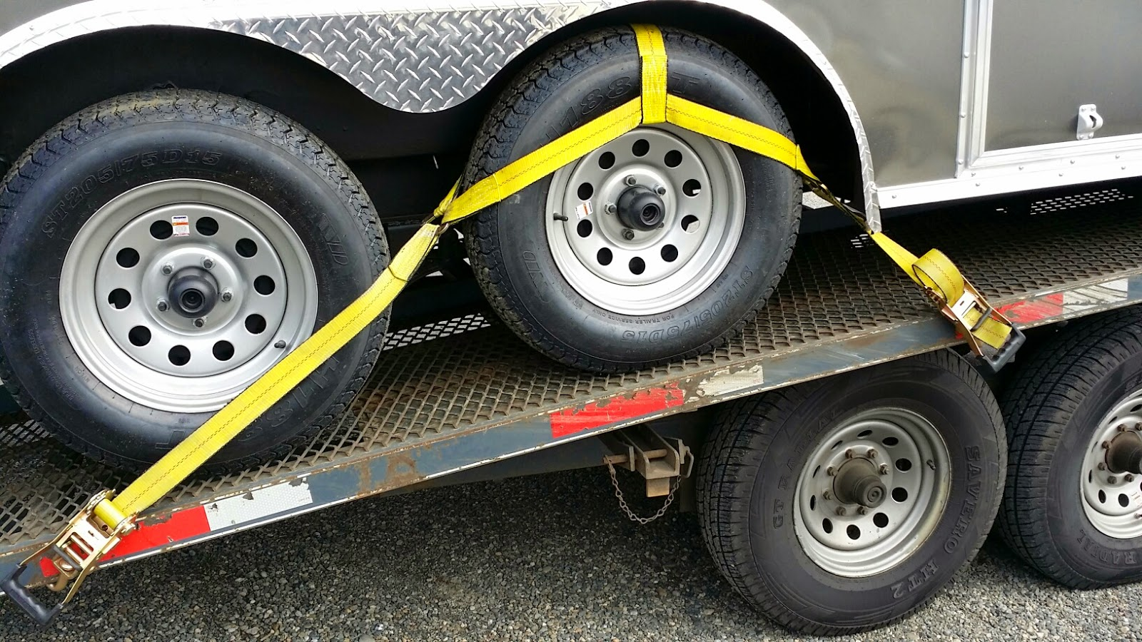 Car Hauler Tie Down Straps