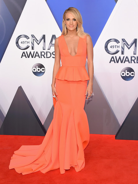 Actress, Singer @ Carrie Underwood - 49th Annual CMA Awards in Nashville