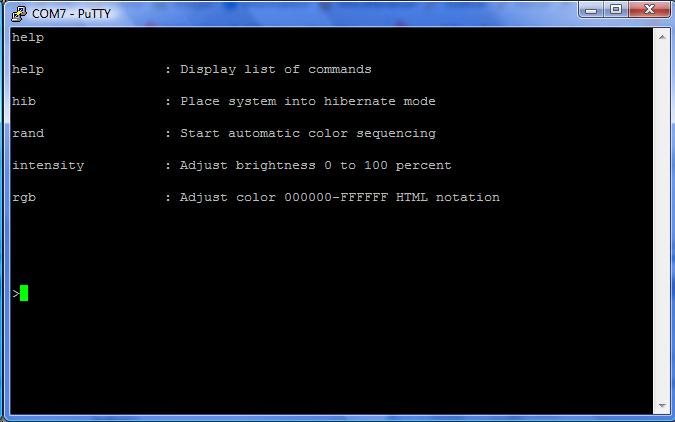 Plink putty linux serial