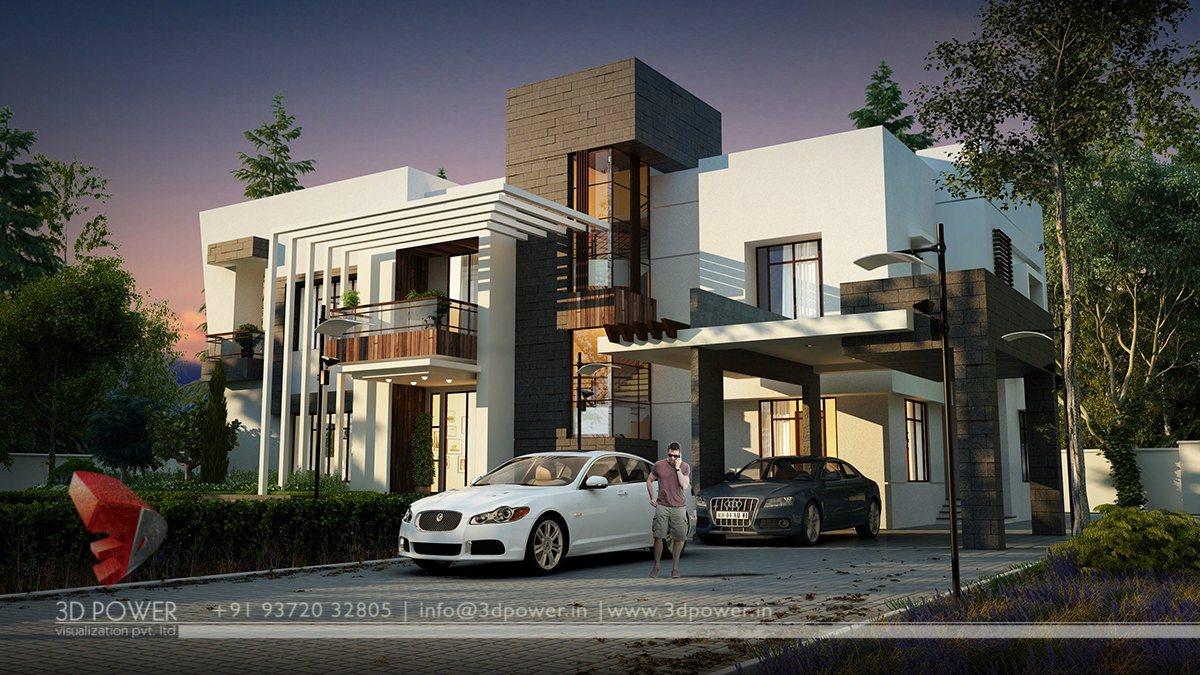 Ultra modern home designs home designs bungalow for Ultra modern house exterior designs