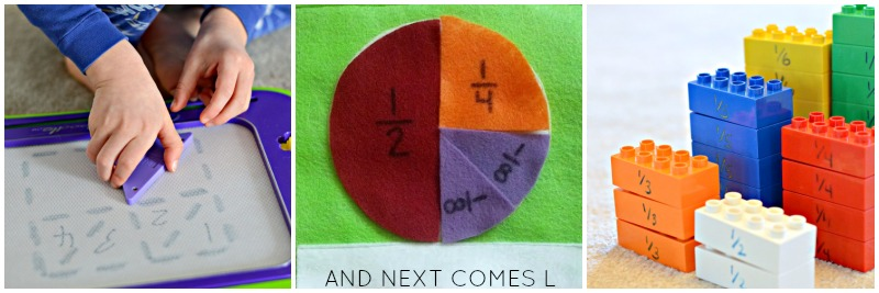 Fractions activities for kids from And Next Comes L