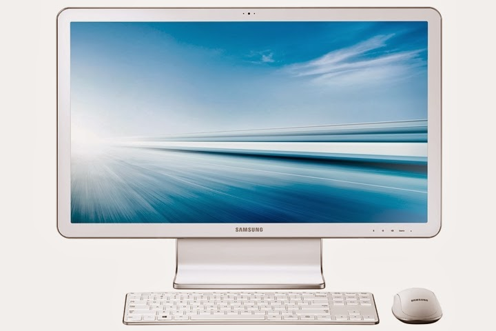 передняя сторона Samsung ATIV One 7 Edition