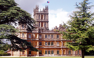 Castillo de Highclere Downton Abbey
