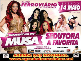 CLUBE FERROVIÁRIO DE JABOATÃO - LANÇAMENTO DO DVD DA MUSA.