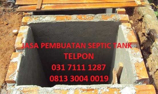 Jasa Pembuatan Septic Tank Surabaya Dan Sidoarjo