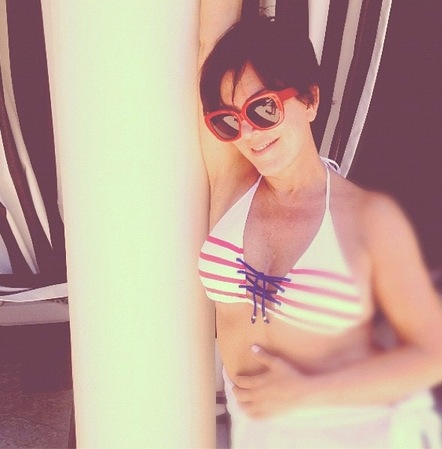 Happy 66th Birthday, Bikini! » Gossip/Kris Jenner Bikini