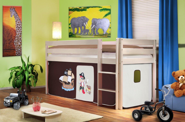12 idee low cost per tenere in ordine i giocattoli dei bambini - Letto rialzato bambini ...