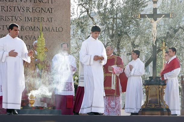 Pasqua 2012 domenica delle palme da bordighera e sanremo for Palma di san pietro