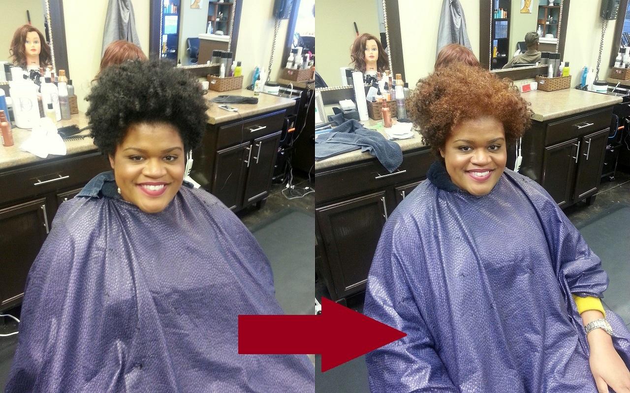 Natural Hair | Coloring My Natural Hair | FabEllis
