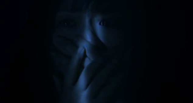 Sadako 3D 2012 Asian horror movie scared sadako victim