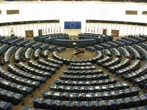 Ruang Sidang di Strasbourg